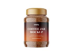 glass coffee jar