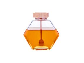 glass honey jars
