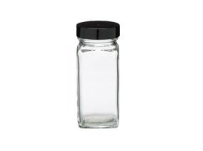 glass spice jars
