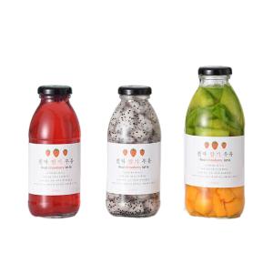 korea milk glass bottle