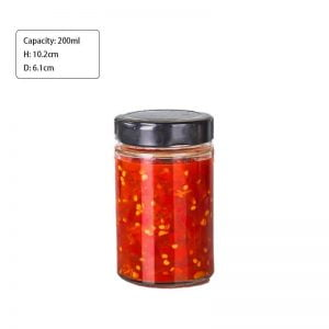 200ml 58Series Round Glass Jar