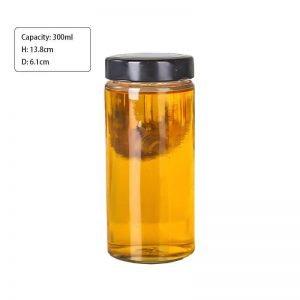 300ml 58Series Round Glass Jar