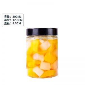 500ml Round Glass Jar