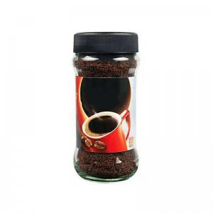 Custom Round Glass Coffee Jar
